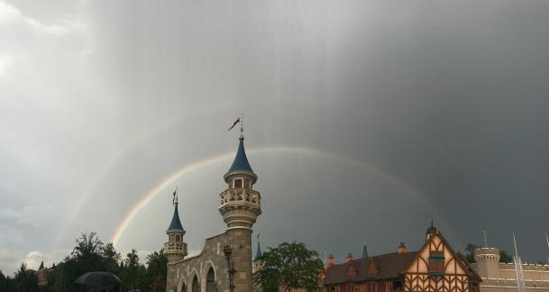 Rainbow over MK