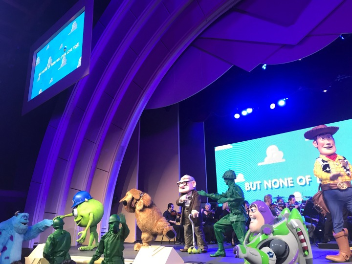 The Music of Pixar Live! Made me cry like ababy