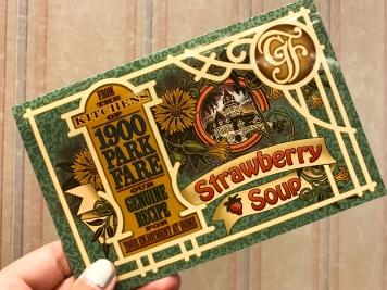 Strawberry Soup Recipe Card