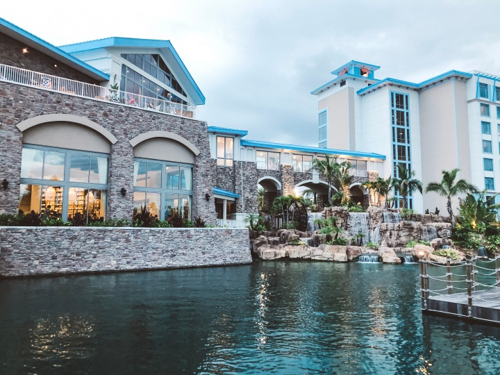 We Stayed at Lowe's Sapphire FallsResort